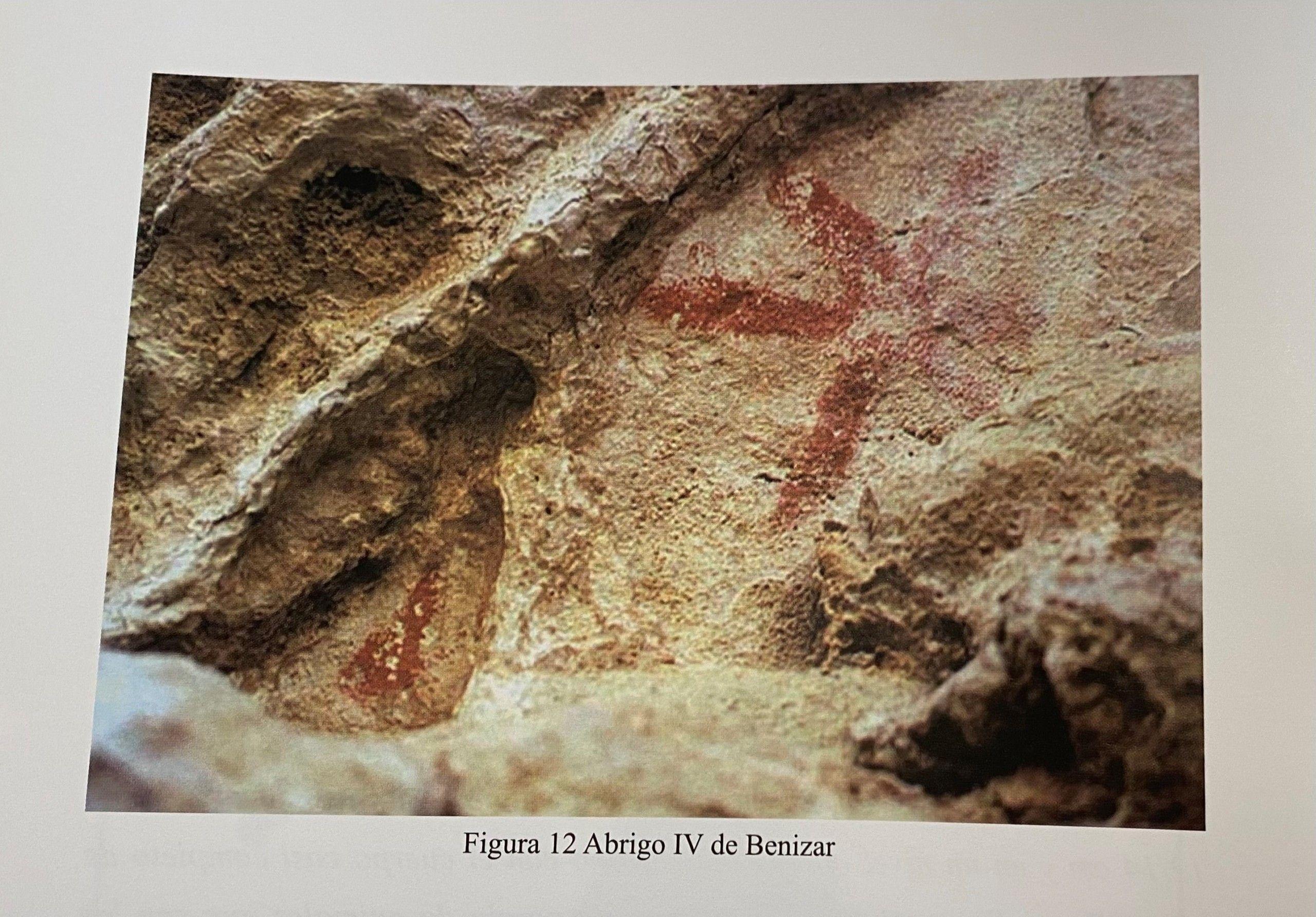 Benizar: Las pinturas de la Prehistoria del Noroeste murciano -Francisco Piñero-